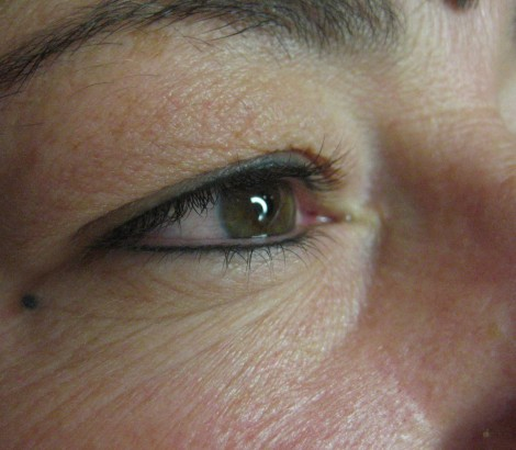 Permanent Makeup Tattoo Eyeliner After Results Healed