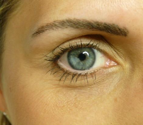 Permanent Makeup Kelowna before eyebrow procedure